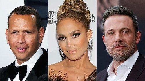 Alex Rodriguez slides into single life with bikini-clad women as Jennifer Lopez is coupled up with Ben Affleck
