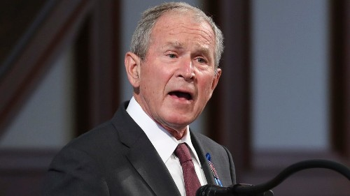 George W. Bush speaks out, rips 'reckless behavior of some political leaders' after Capitol mayhem