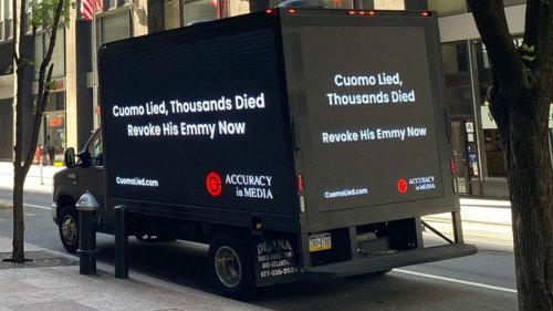 Billboard campaign declares Gov. Cuomo's Emmy should be revoked over NY nursing home crisis