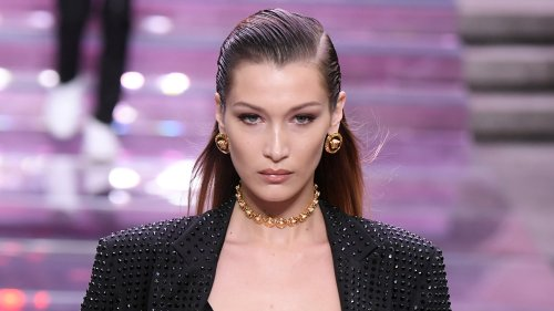 Bella Hadid joins pro-Palestinian protesters in NYC after controversial Instagram posts