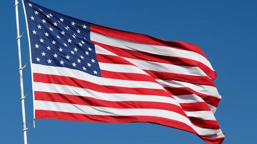 Astronaut Doug Hurley tweets pic of American flag from International Space Station