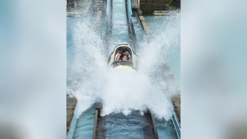 Video of Six Flags log flume accident aftermath appears to show damaged track