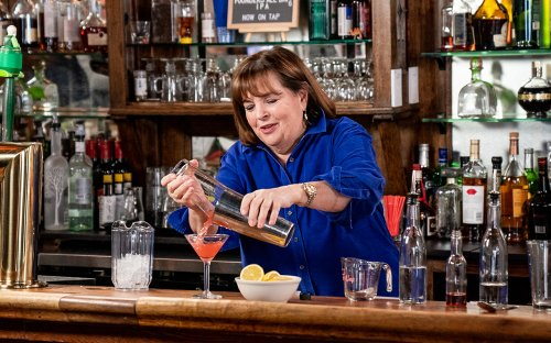 Ina Garten claims she doesn't drink much, despite her giant cocktail recipe