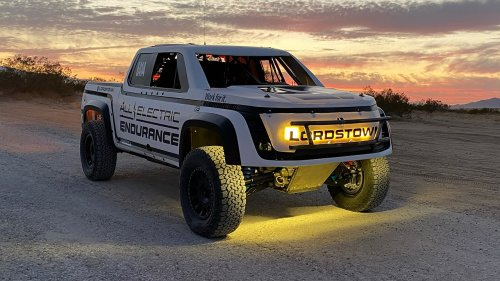 Lordstown Endurance electric racing truck revealed ahead of San Felipe 250