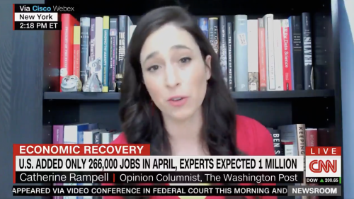 CNN pundit says 'factor' in poor jobs report is people don't want to be 'assaulted' by anti-maskers at work