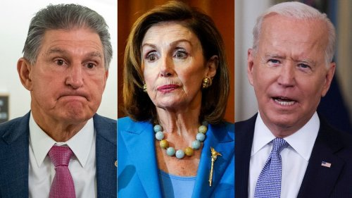 Democrats' explode in frustration over stalled reconciliation spending spree: 'It's the effing progressives'
