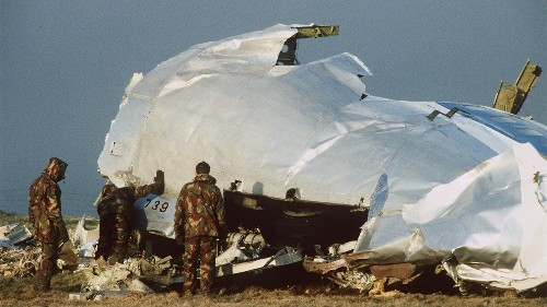 DOJ announces charges against accused Lockerbie bombmaker, a 'hit man' for Qaddafi