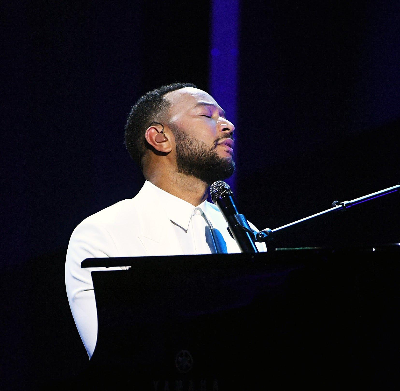 John Legend dedicates Billboard performance to wife after pregnancy loss