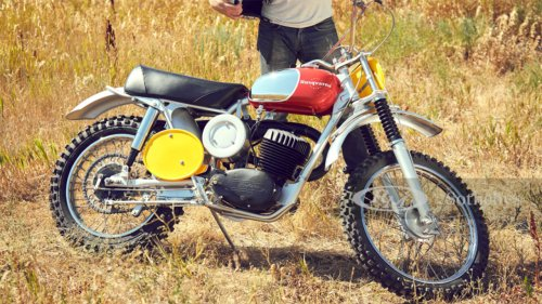 Steve McQueen's first Husqvarna motorcycle could sell for a small fortune