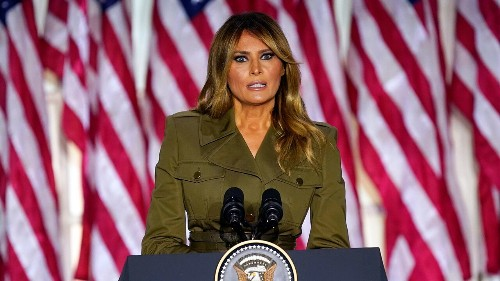 Melania Trump breaks silence on Capitol attack