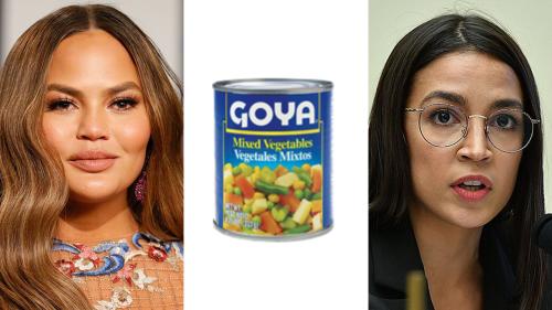 Goya foods slammed by AOC, celebrities after CEO praises Trump