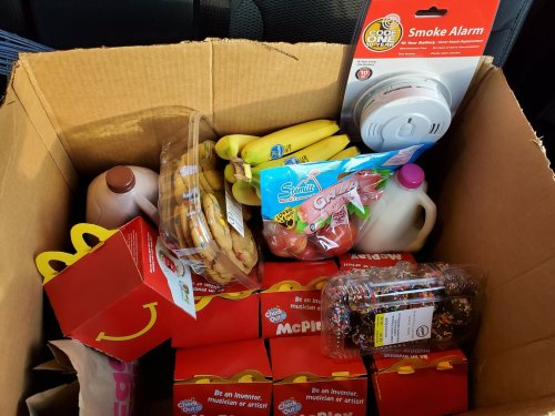 Wisconsin fire department donates McDonald's 'Thank You Meals' to family in need