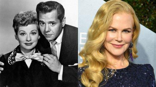 Nicole Kidman photos as Lucille Ball spark social media casting debate