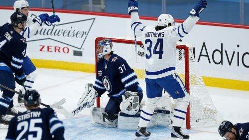 Matthews scores 24th goal as Leafs earn 3-1 win over Jets