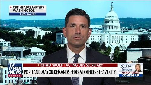 Acting DHS secretary hits back at Portland mayor's 'completely irresponsible' claim that feds are 'escalating' unrest