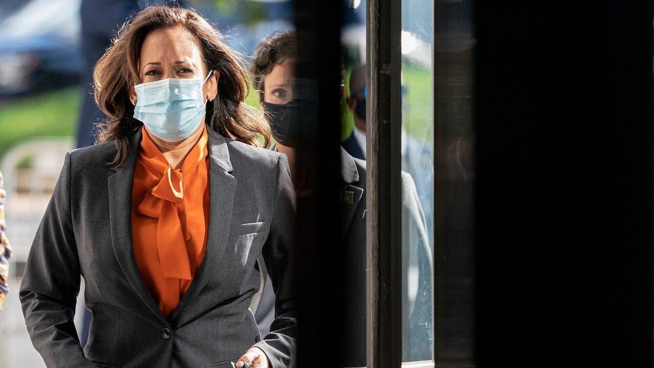 Kamala Harris halts travel after 2 involved in campaign test positive for coronavirus