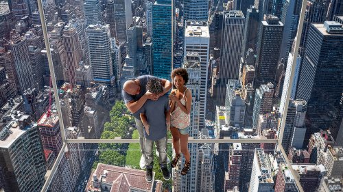 NYC's scary new tourist attraction: An all-glass 'Ascent' into the sky