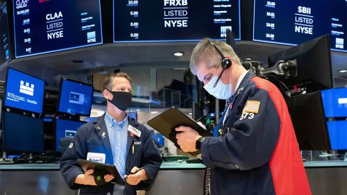 US stock futures mostly trending lower hours before Monday's opening bell