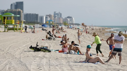 Coronavirus spike forces Miami to close beaches for July 4 weekend