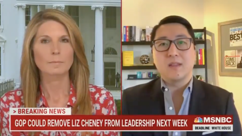 MSNBC's Nicolle Wallace, a Bush aide during 9/11, was unfazed as guest claimed GOP is 'worse' than Al Qaeda