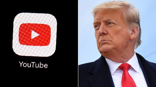 Trump's YouTube channel to 'remain suspended' after Capitol riot due to 'ongoing potential for violence'