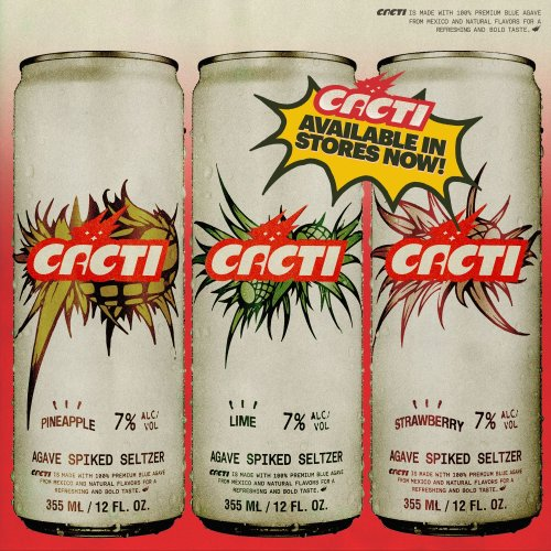 Travis Scott teams with Anheuser-Busch for Cacti spiked seltzer