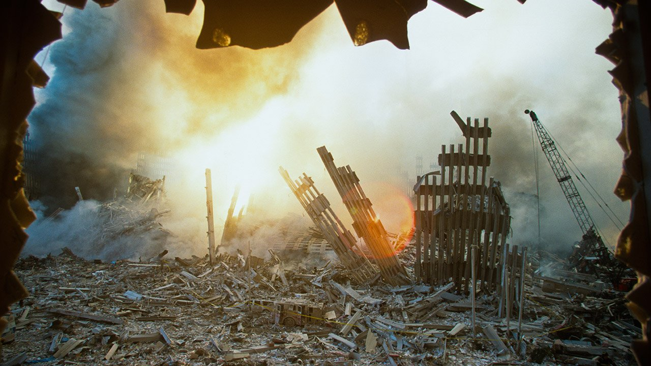 The defining images from Sept. 11, 2001