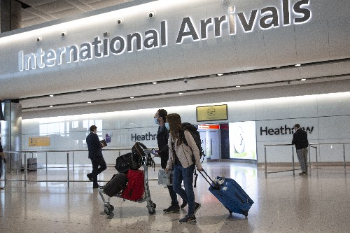 UK-bound travelers must show negative COVID-19 test at border