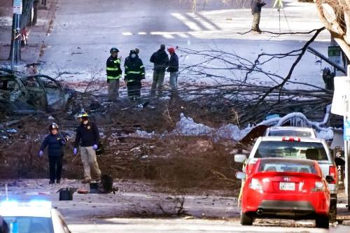 LA entertainment exec linked to Nashville bombing suspect
