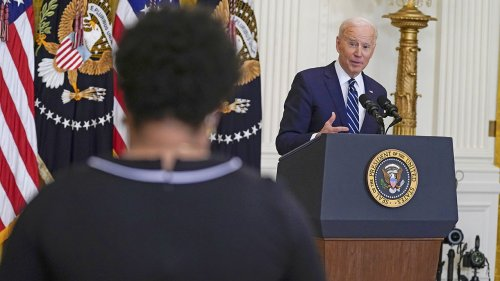 Biden's bizarre behavior at press conference causes 'Creepy Joe' to trend on Twitter