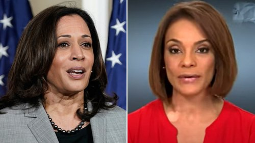 Kamala Harris snaps at Univision anchor while pressed on when she'll visit border: 'I'm not finished'