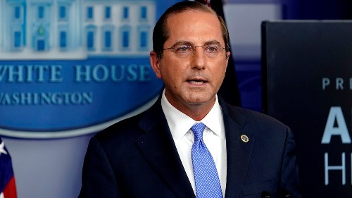 States can expand COVID-19 vaccinations to broader groups to use supply, Azar says