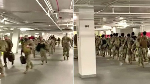 National Guard soldiers ordered home by governors amid outrage over being moved to Capitol parking garage