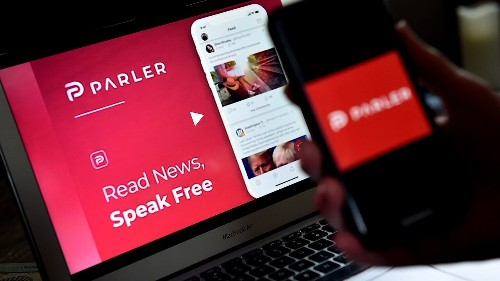 Conservatives flee to Parler following Twitter's permanent suspension of Trump