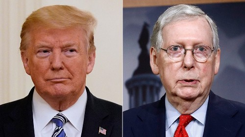 Trump fires back after McConnell recognizes Biden's victory: 'Too soon to give up'