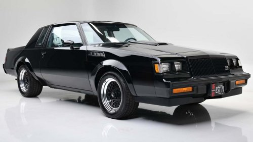 1987 Buick GNX muscle car sold for record $275,000