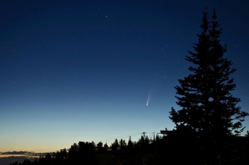A comet is visible this month: NASA has these tips for skywatchers