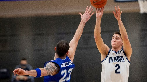 No. 3 Villanova edges Seton Hall in return from 27-day break