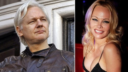 Pamela Anderson pleads with Trump to pardon 'free speech hero' Assange: 'Do the right thing'