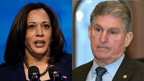 Kamala Harris TV appearance in West Virginia surprises Manchin: 'That's not working together'