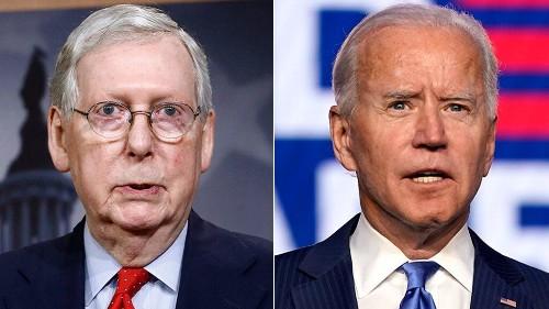McConnell, top GOP senators acknowledge Biden as president-elect