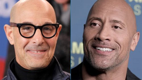 Dwayne 'The Rock' Johnson, Stanley Tucci react to losing 'world's sexiest bald man' title to Prince William