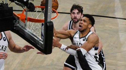 Bucks edge Nets in OT in Game 7, withstand Durant's 48
