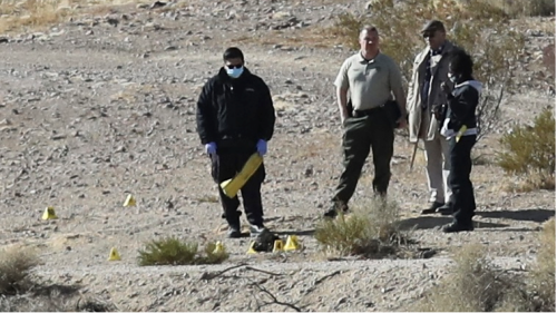 California woman ID'd in Mojave homicide case involving remains scattered down desert highway
