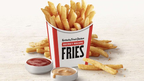 KFC fries have replaced potato wedges nationwide