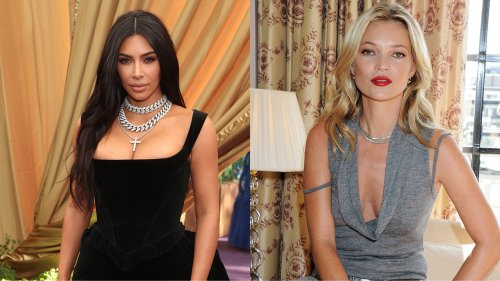 Kim Kardashian reveals Kate Moss as star of new SKIMS campaign with topless photo: 'She is the fashion icon'
