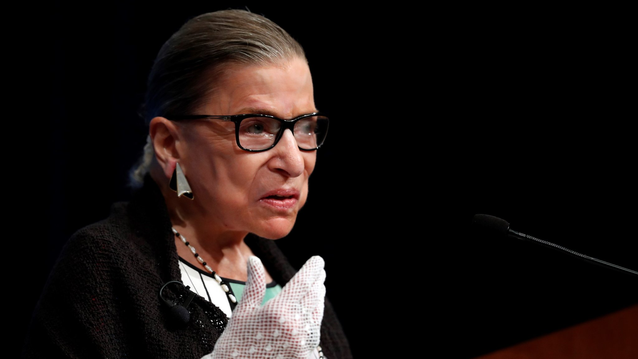Ruth Bader Ginsburg warned against court packing