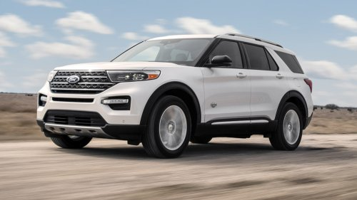 Western-themed 2021 Ford Explorer King Ranch revealed