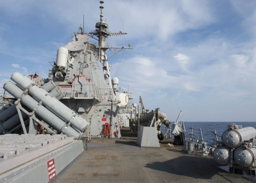 Navy to deploy destroyers with new laser attack weapon