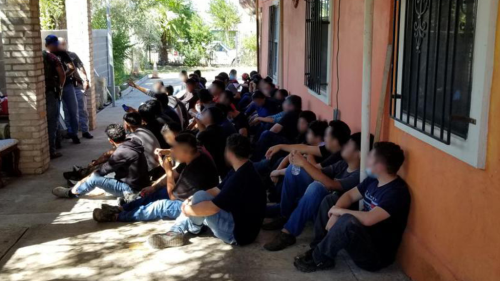 Texas Border Patrol agents discover stash houses packed with nearly 100 illegal immigrants